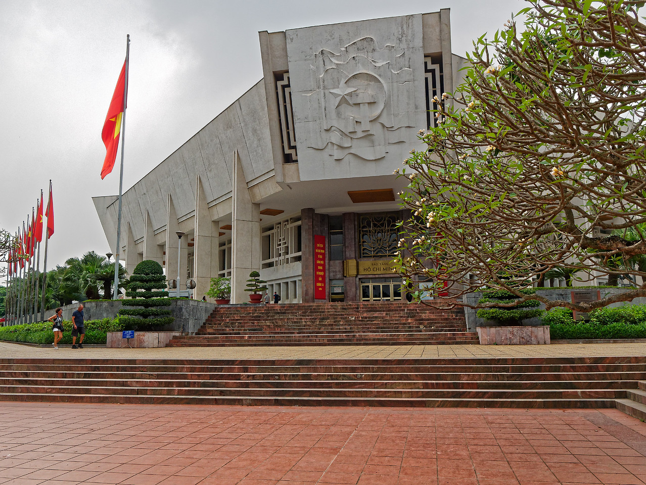 Entrance to the Ho Chi Minh Museum