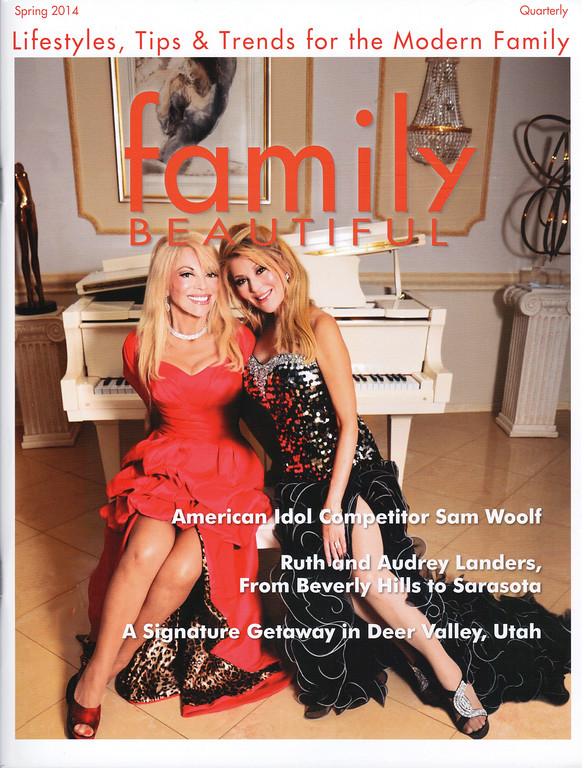 FAMILY BEAUTIFUL MAGAZINE 2014