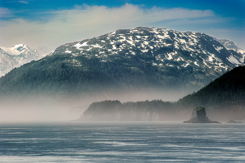 Fog on Icy Straits, AK