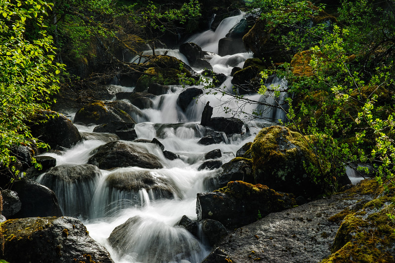 Waterfall, Mendenhall Trail, Juneau, AK