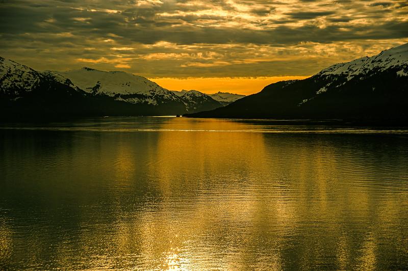 Dawn, Whittier AK