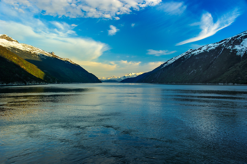 Sunrise on Gastineau Channel, Juneau, AK