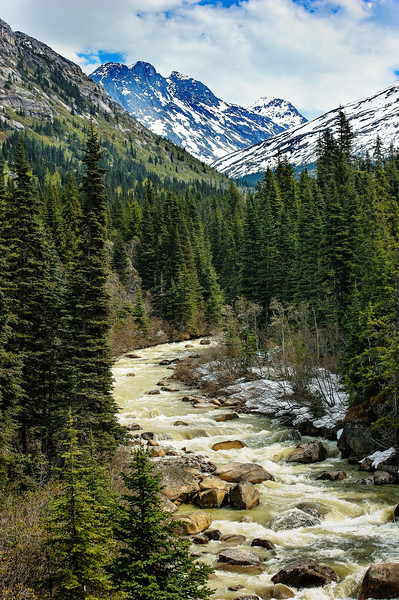 Skagway River, White Pass, AK