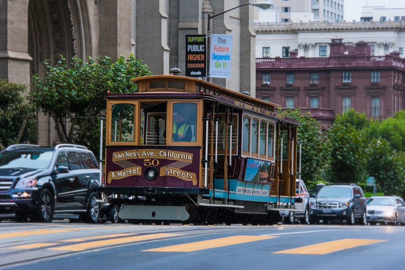 Cable Car; San Francisco, CA