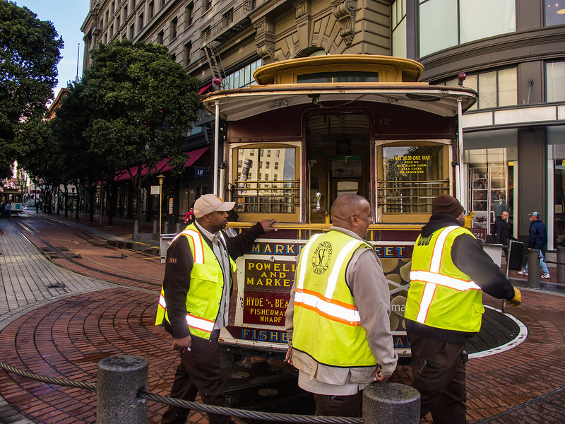 Cable Car Turntable; San Francisco