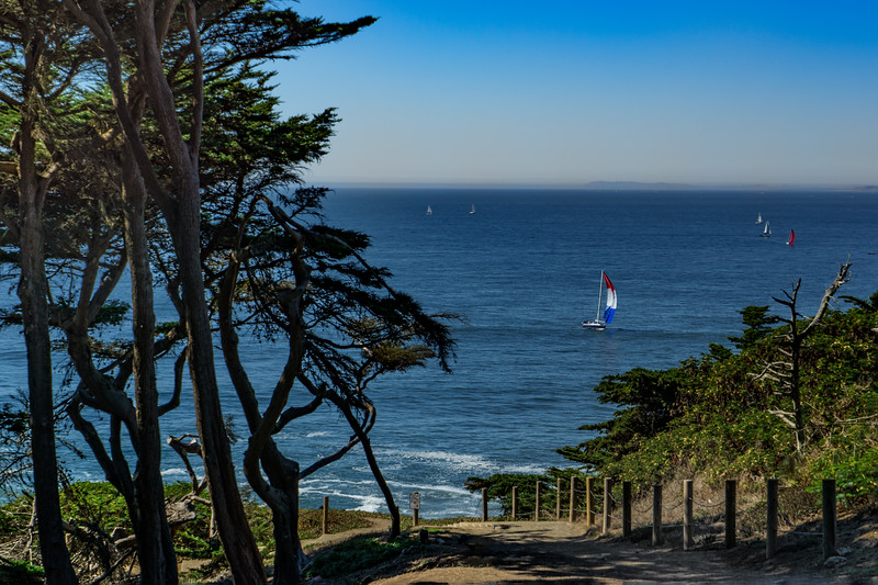 Lands End; Pacific Ocean