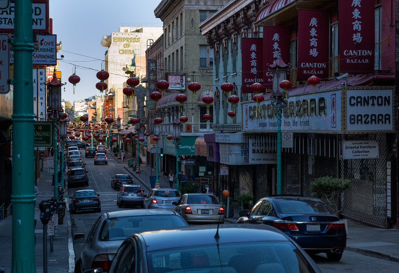 China Town; San Francisco