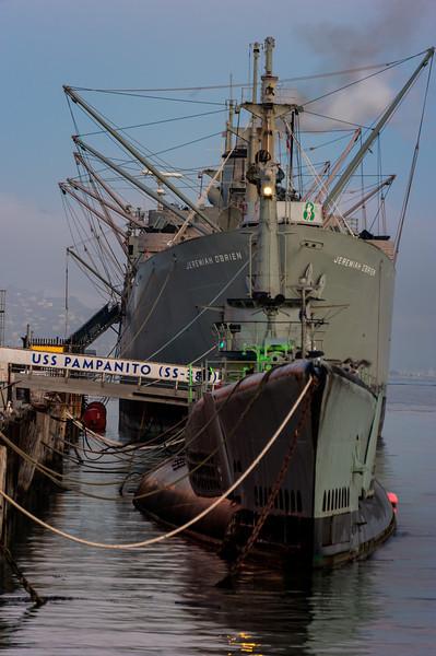 Military Ship; San Francisco