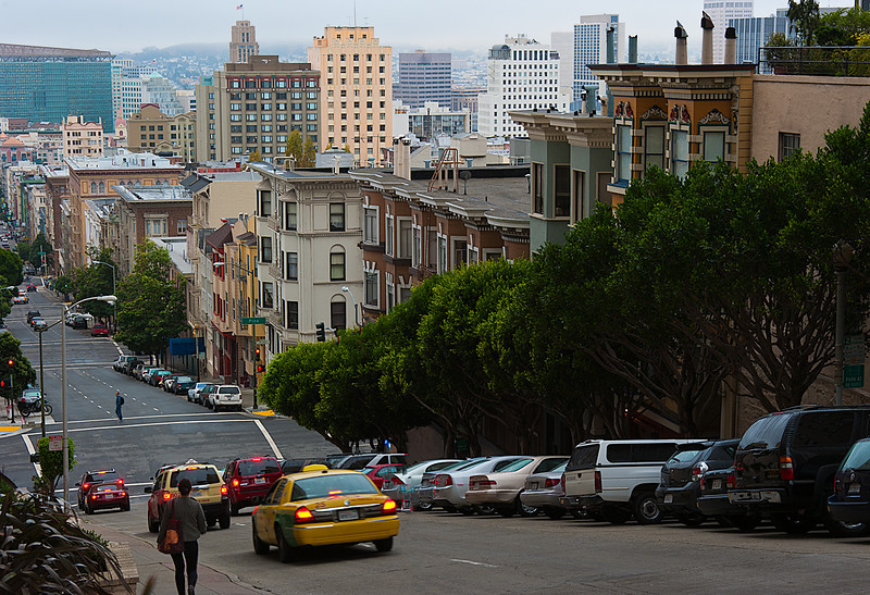 Streets of San Francisco; Knob Hill
