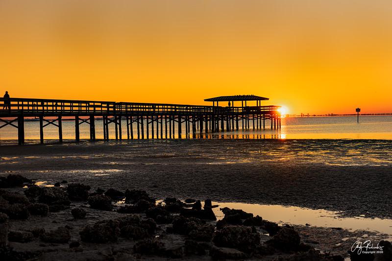 Sunrise; Safety Harbor Pier