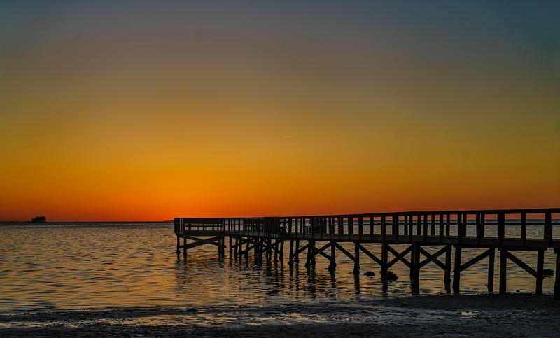 Crystal Beach Pier