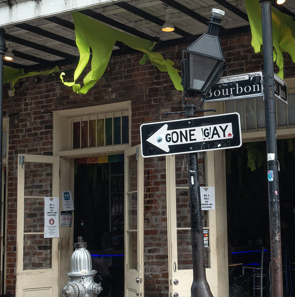 Bourbon Street; French Quarter, NOLA