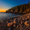 Otter Cliff Sunrise; Acadia NP