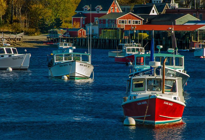 Lobster Harbor, Bernard, ME