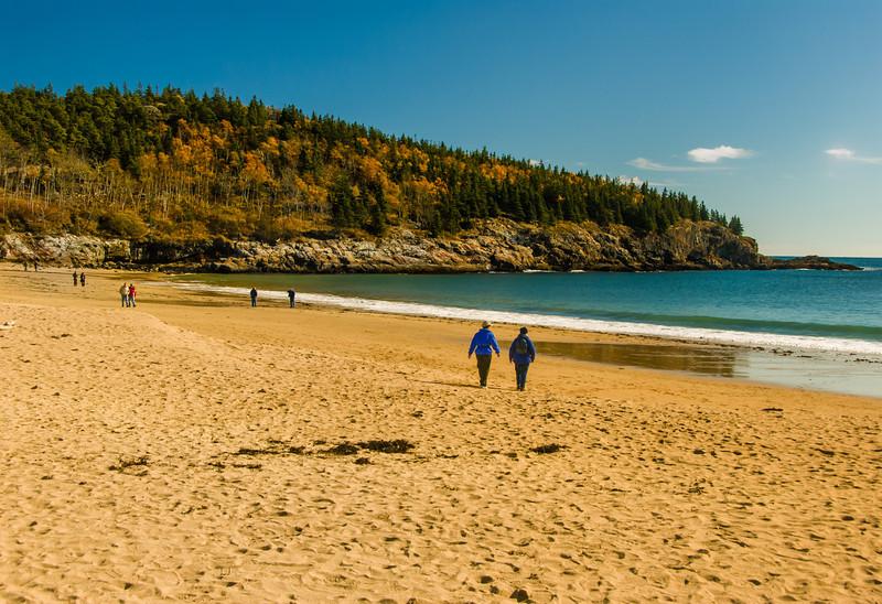Sand Beach; Acadia NP, ME
