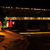 Covered Bridge at Christmas, Frankenmuth, Michigan