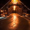 Covered Bridge at night, Frankenmuth, Michigan