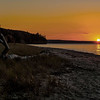 Lake Superior Sunset; Miner's Beach; Pictured Rocks National Lakeshore
