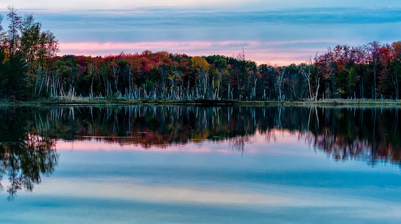 Red Jack Lake sunset
