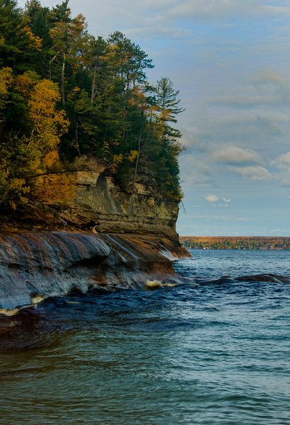 Lake Superior at the mouth of Miner's River