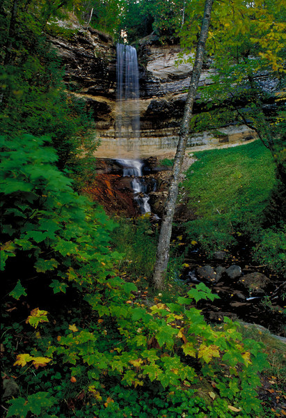 Munising Falls; Munising, Michigan