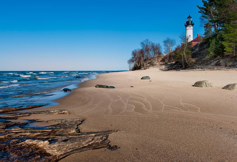 AuSable Point Lighthouse, Grand Marais, Michigan