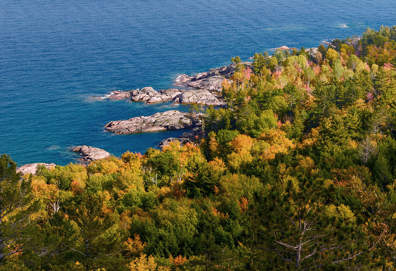 Sugar Loaf Overlook; Lake Superior