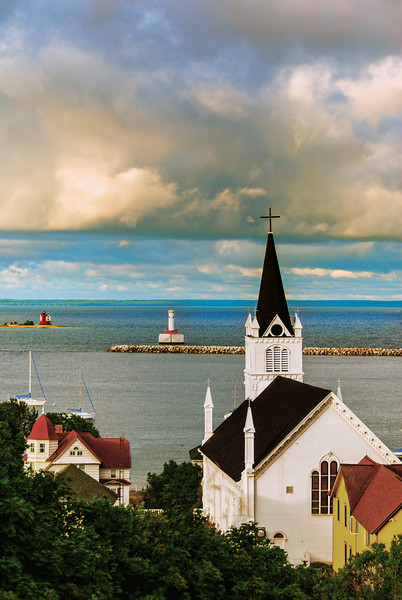Church; Mackinac Island