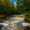 Whitefish Falls; Trenary, Michigan
