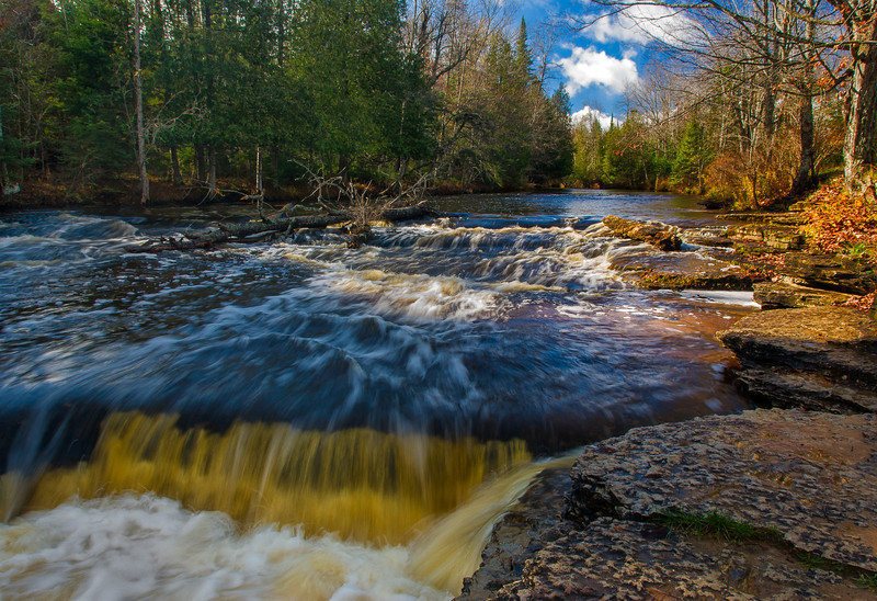 Rapid River Falls, Rapid River, MI