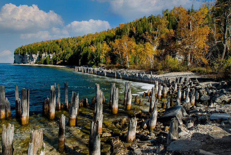"""Snail Shell Harbor;"" Fayette State Park"