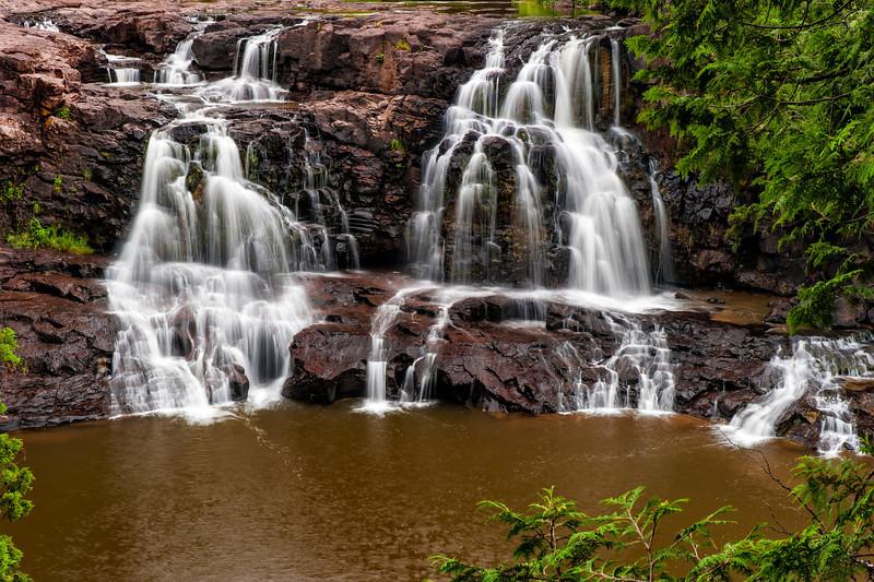 Upper Gooseberry Falls, Two Harbors, MN