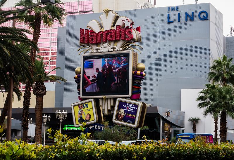 Harrahs Casino, Las Vegas
