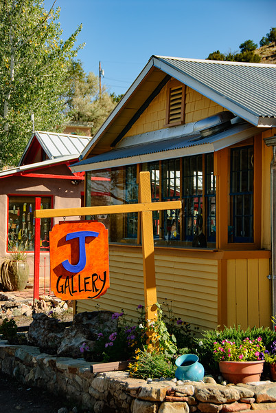 Gallery on Main Street, Madrid, New Mexico