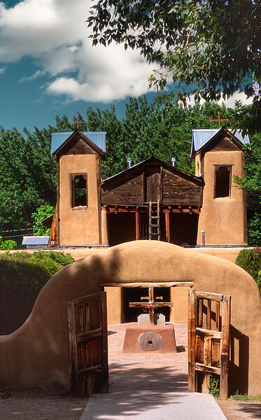 Church of The San Hose DeGracia, Los Trampas, New Mexico