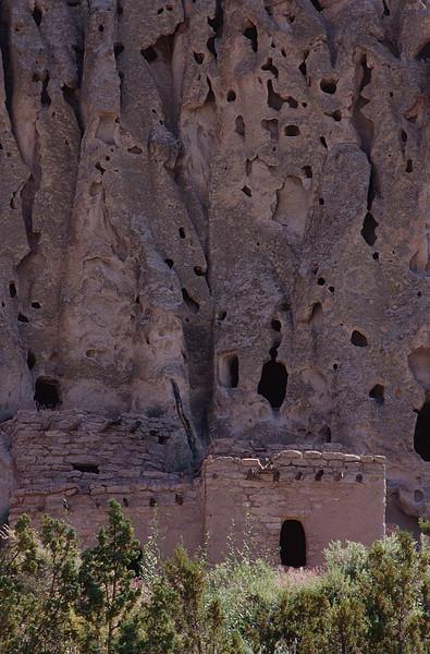 Navajo Pueblos, Bandelier National Monument, New Mexico