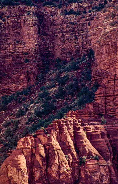 Redrock formations, Jemez, New Mexico