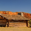 Log Cabin, Ghost Ranch, New Mexico