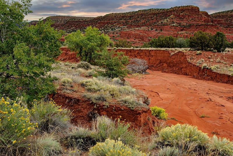 Red Rock formation, Jemez Pueblo, New Mexico