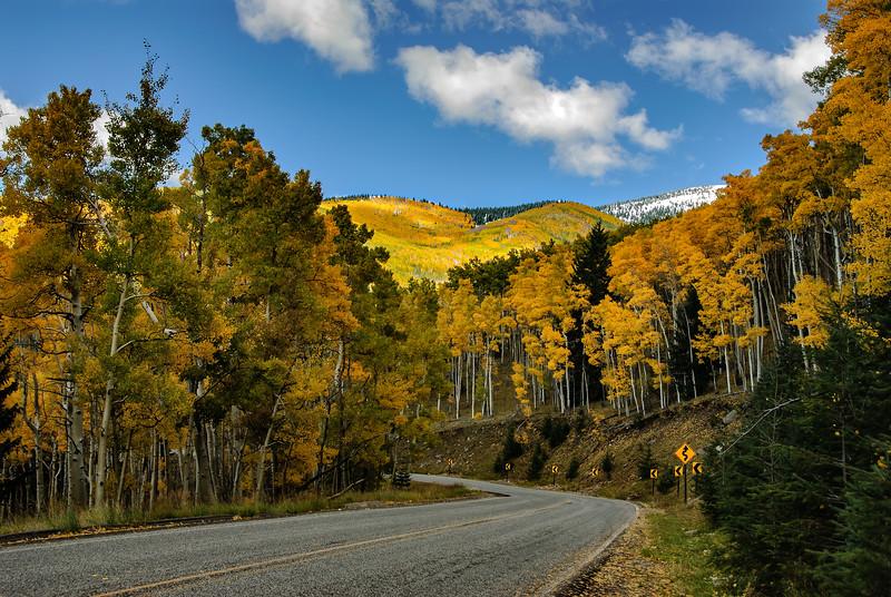 Sante Fe Ski Basin in fall
