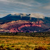 Redrocks and Mountain, Jemez, New Mexico