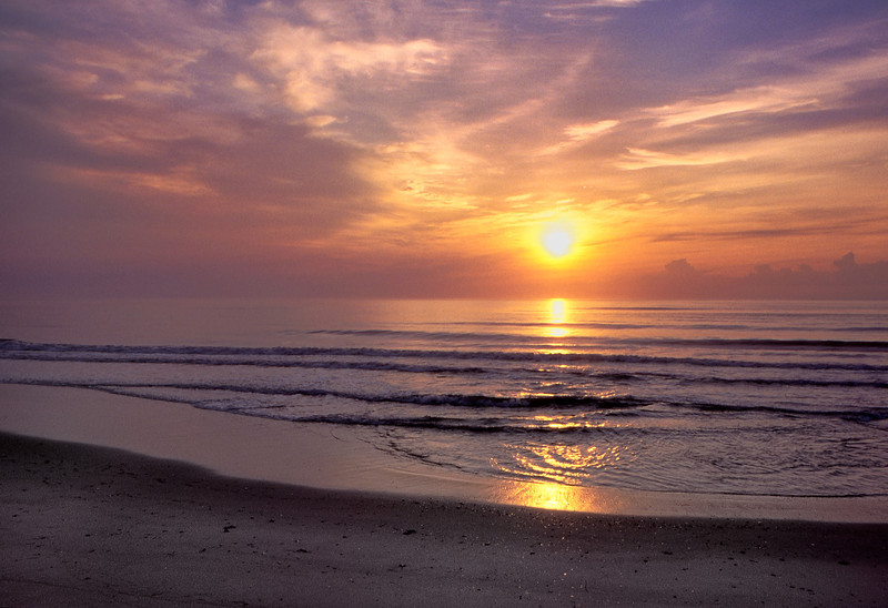 Sunrise, Hatteras National Seashore, North Carolina