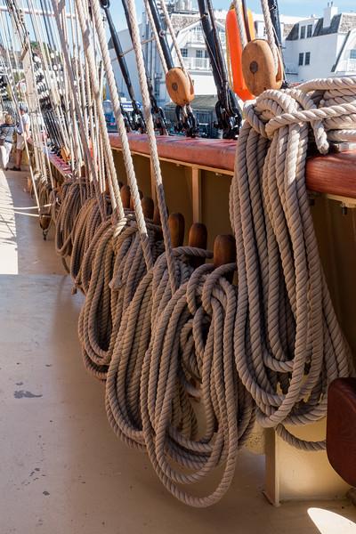 Rope; Newport, RI