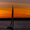 Sailboat; Nargansett Bay; Newport, RI