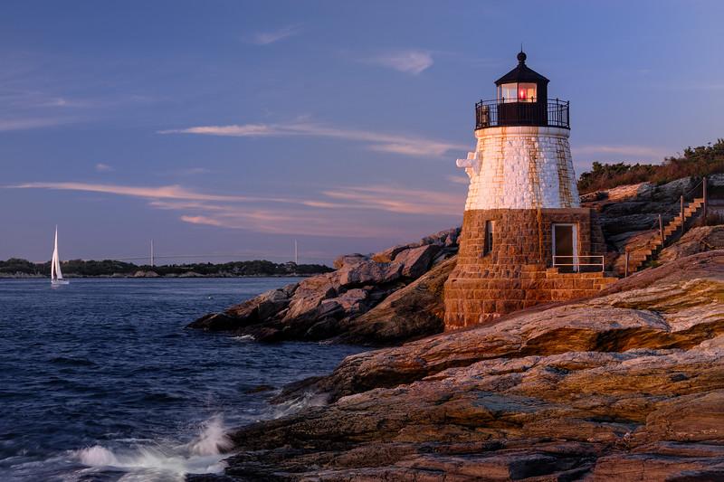 Castle Hill Lighthouse, Newport, RI