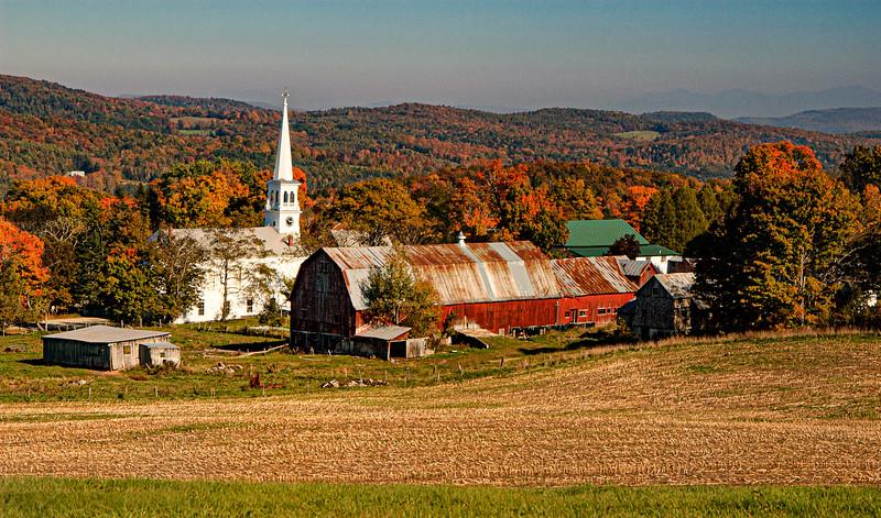 Peacham Village, Vermont