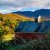 Barn on Pleasant Valley Road; Underhill, Vermont