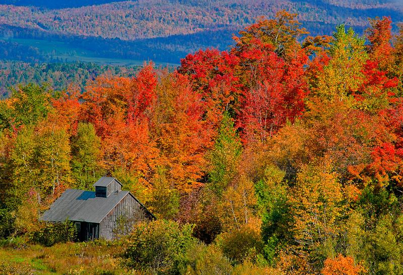 Burton Hill Road Sugarhouse; Barton, Vermont