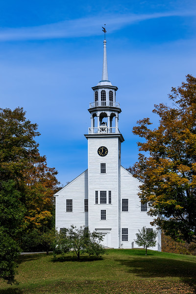 Public Meeting House; Strafford, Vermont