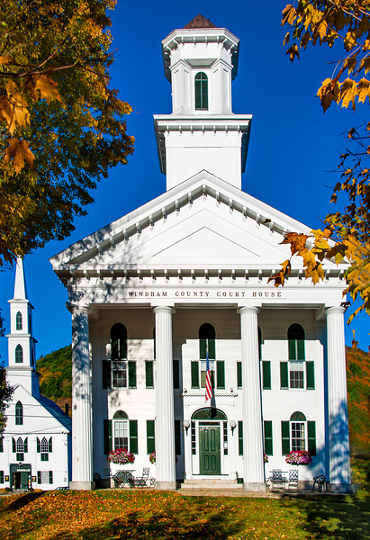 Windham County Courthouse; Newfane, Vermont